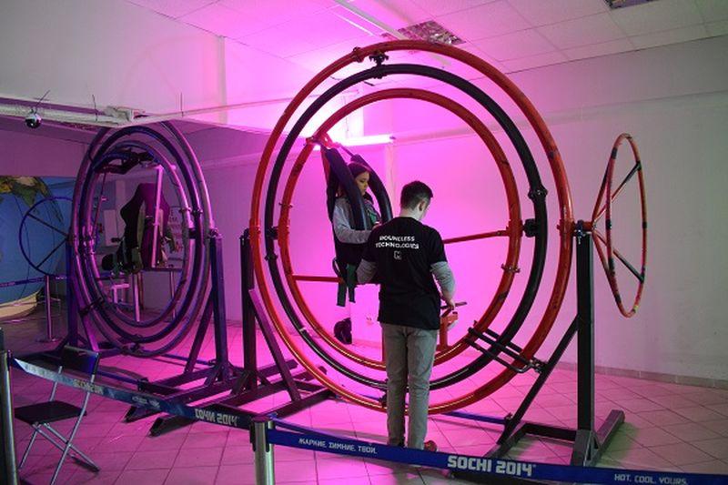 Юные корреспонденты побывали в космическом парке «Космодрайв»