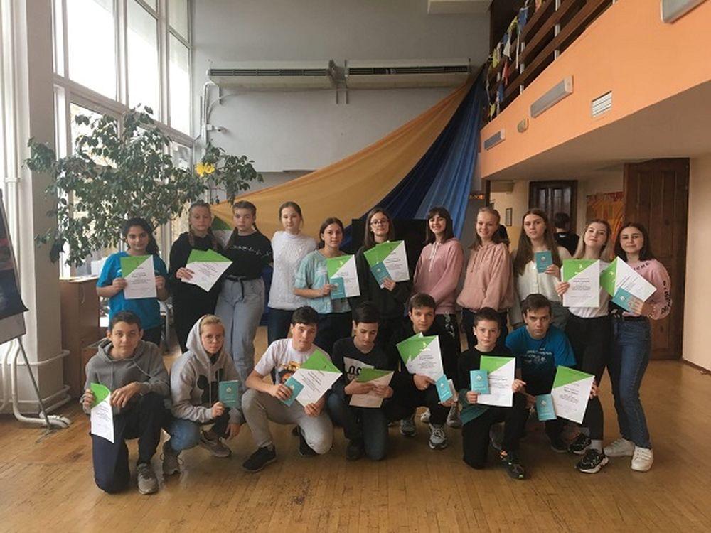 Учащиеся клуба «Технолаб» побывали в «Орлёнке»